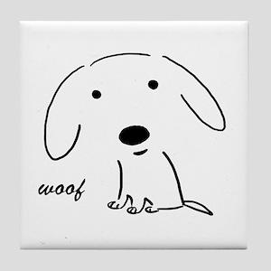 Little Woof Tile Coaster