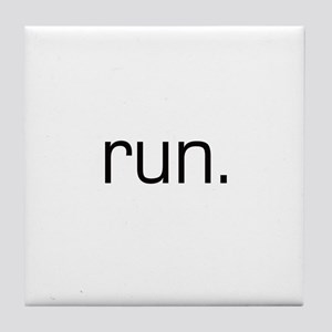 Run Tile Coaster