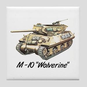 "M-10 ""Wolverine"" Tile Coaster"