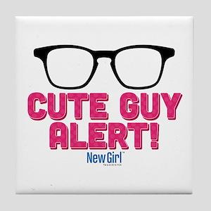 New Girl Alert Tile Coaster