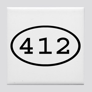 412 Oval Tile Coaster