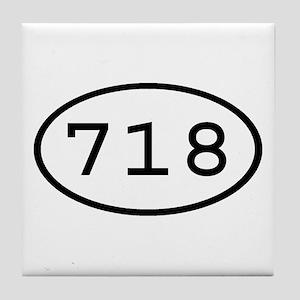 718 Oval Tile Coaster