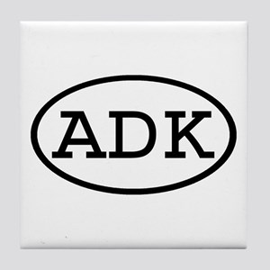 ADK Oval Tile Coaster
