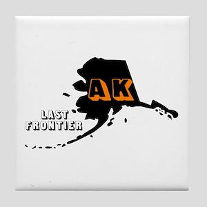 AK LAST FRONTIER Tile Coaster