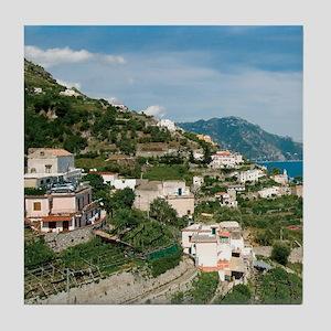 Itally - Amalfi Coastline  Tile Coaster