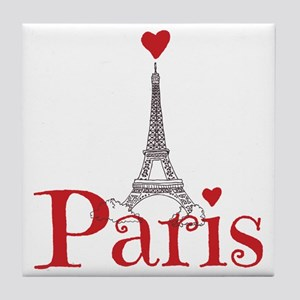 I love Paris Tile Coaster