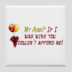Fine Wine Tile Coaster