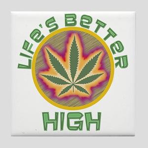 High Life Tile Coaster