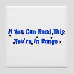 In Range Tile Coaster