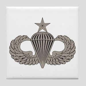 Sr. Parachutist Tile Coaster