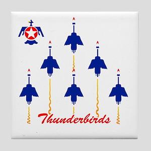 Thunderbirds Tile Coaster