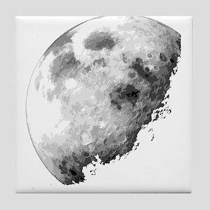 Eclipsing Moon Tile Coaster