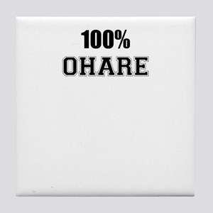 100% OHARE Tile Coaster