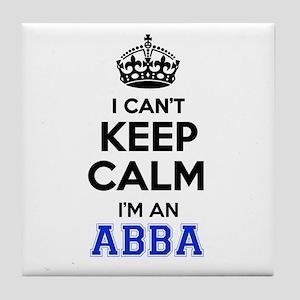 I cant keep calm Im ABBA Tile Coaster