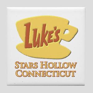Luke's Diner Stars Hollow Gilmore Girls Tile Coast