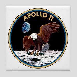Apollo 11 Insignia Tile Coaster