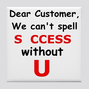 Customer Tile Coaster