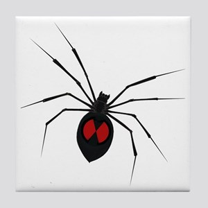 widow_001 Tile Coaster