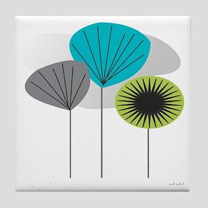 MCM 5 canvas Tile Coaster