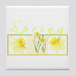 Spring Tile Coaster
