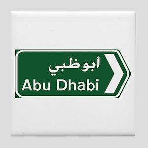 Abu Dhabi, United Arab Emirates Tile Coaster