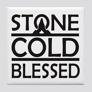 Stone Cold Blessed Tile Coaster