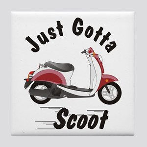 Just Gotta Scoot Metro Tile Coaster
