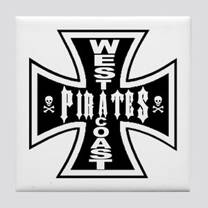 West Cooast PIRATES Tile Coaster