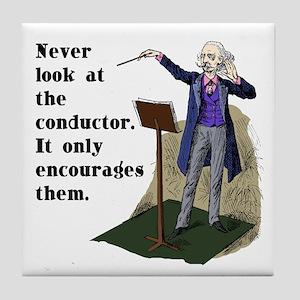 Conductor Tile Coaster