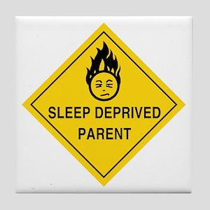 Sleep Deprived Parent Tile Coaster