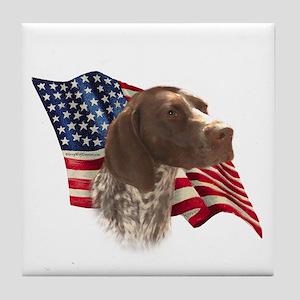 GSP Flag Tile Coaster