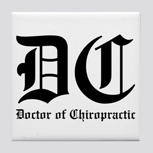 Doctor of Chiro Tile Coaster