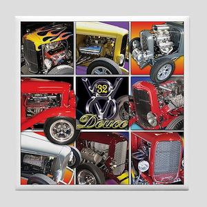 Deuce Engines Tile Coaster