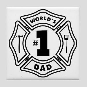 FD DAD Tile Coaster