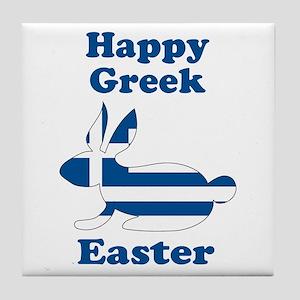 Greek Easter Tile Coaster