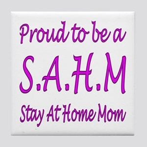 ...Stay At Home Mom... Tile Coaster