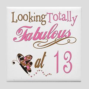 Fabulous 13th Tile Coaster