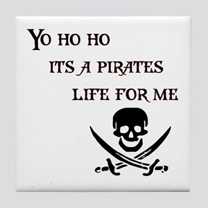 Yo Ho Ho Tile Coaster