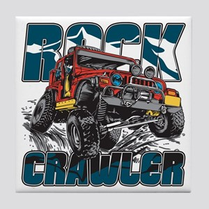 Rock Crawler 4x4 Tile Coaster