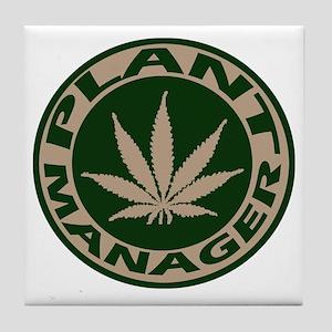 Plant Manager Tile Coaster