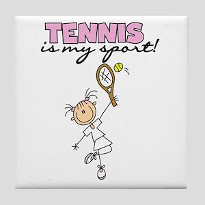 Tennis is my Sport Tile Coaster