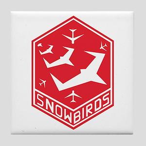 SNOWBIRDS Tile Coaster