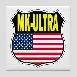 PROJECT MK ULTRA Tile Coaster
