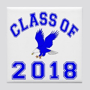 Class Of 2018 Eagle Tile Coaster