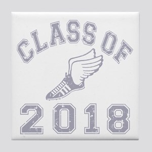 Class Of 2018 Track & Field Tile Coaster