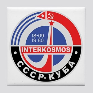 Interkosmos Tile Coaster