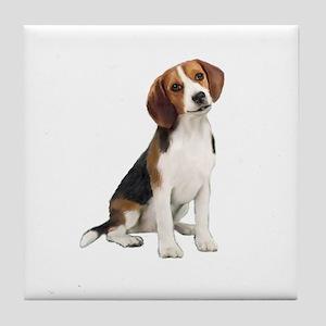 Beagle #1 Tile Coaster