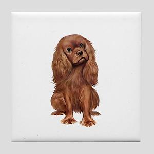 Ruby Cavalier 1 Tile Coaster
