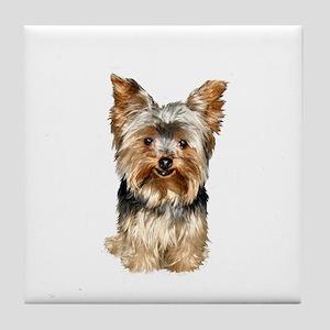 Yorkshire Terrier (#17) Tile Coaster