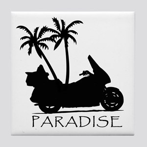Wing in Paradise Tile Coaster